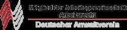 Logo - Deutscher Anwaltsverein - Mitglied der Arbeitsgemeinschaft Arbeitsrecht